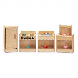 Dramatic Play | Toddler Contemporary Kitchen 4 piece set