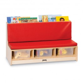 Literacy Couch Red