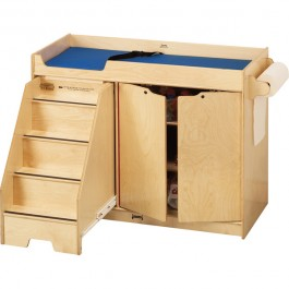 Changing Table | with Stairs on Left