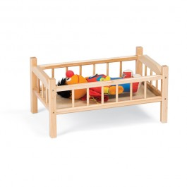Dramatic Play | Traditional Doll Bed