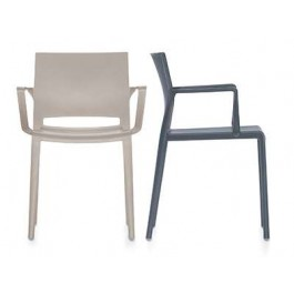Armchair | Bakhita with Poly Seat and Back
