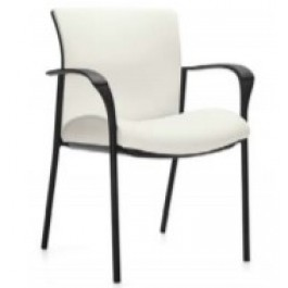 Shown with upholstered back