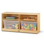 Cubbie   Toddler Jumbo Tote Storage with Clear Totes & Lids