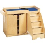 Changing Table | with Stairs on Right