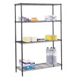 "Wire Shelving, 48"" x 18"""