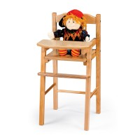 Dramatic Play | Traditional Doll High Chair