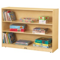 Bookcases | Super Sized Adjustable Mobile Straight Shelf