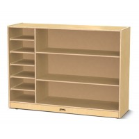 Birch Wood with 3 Shelves with Separate Paper Trays