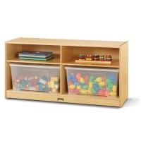 Cubbie | Toddler Jumbo Tote Storage with Clear Totes & Lids