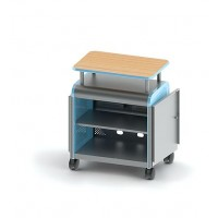 Cascade Mid-Case | Doors | Shelves | Lectern