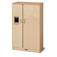 Birch Wood Refrigerator