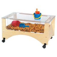 Sensory Table | Toddler See-Thru Sensory Table