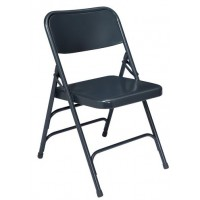 Premium All-Steel Chair | Triple Brace Double Hinge | Set of 4 | 300 Series
