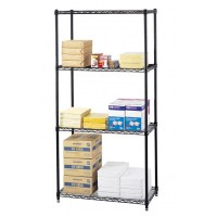 "Wire Shelving, 36"" x 18"""