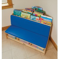 Blue Corner Literacy Nook