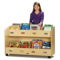 Bookcase | Mobile 8-Section Book Organizer