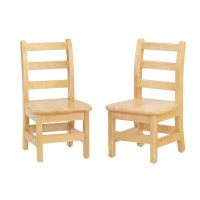 "Chairs | 10"" KYDZ Ladderback Chair (Set of 2)"