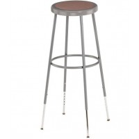 "Adjustable Stool | Round Hardboard Seat | 31""-39"""