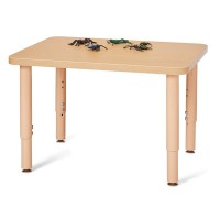 "24"" Birch Wood Table"