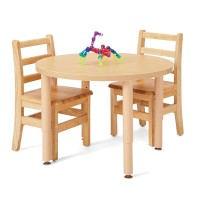"Maple 30"" Round Table"