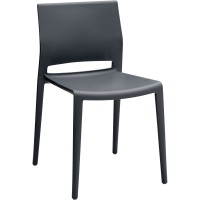 Chair | Bakhita Armless with Poly Seat and Back