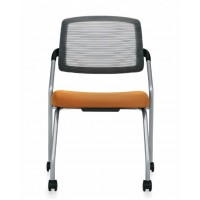 Chair | Spritz Armless Flip Nesting with Casters