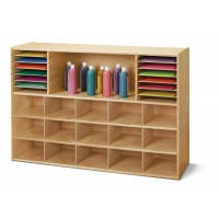 Cubbie - Tray Storage without Bins