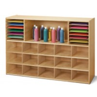 Without Cubbie Storage Bins