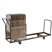 Vertical Folding Chair Dolly | 35 Chair Capacity