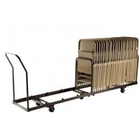 Vertical Folding Chair Dolly | 50 Chair Capacity