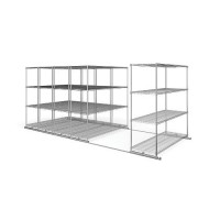 "Wire Shelving | X5 Preconfigured Kit 24"" x 72"""