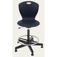 Swivel Stool | Discover Gas-Lift with XL Shell