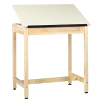 Art/Drafting Table in raised position