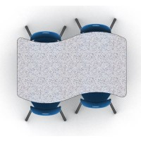 4 person expanse table