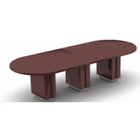 "Tables | Zira Boardroom Table | 288""W x 60""D x 30""H"