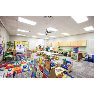 Clean modern classroom